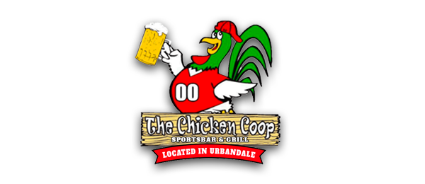 The Chicken Coop Sports Bar and Grill Logo