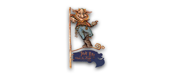 Troll Pub Under the Bridge Logo