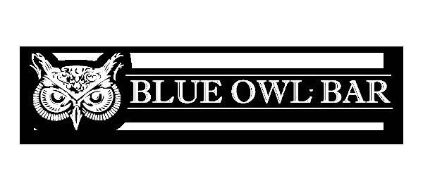 The Blue Owl Bar Logo