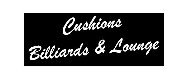 Cushions Billiards & Lounge Logo