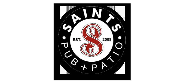 Saints Pub + Patio Waukee Logo