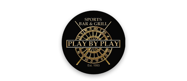 Play By Play Sports Bar and Grill Logo