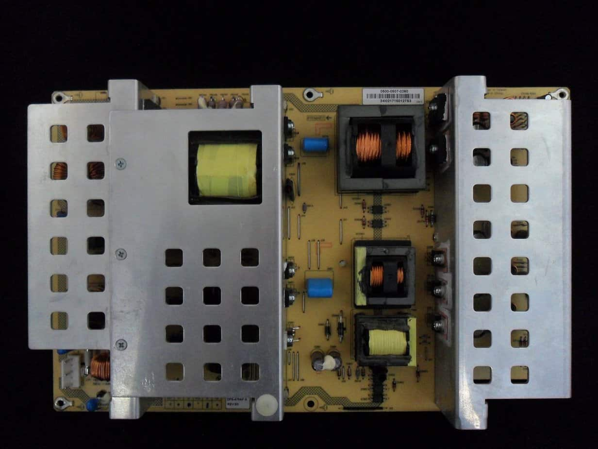 VIZIO 0500-0507-0260 POWER SUPPLY BOARD FOR GV47LFHDTV10A AND OTHER MODELS