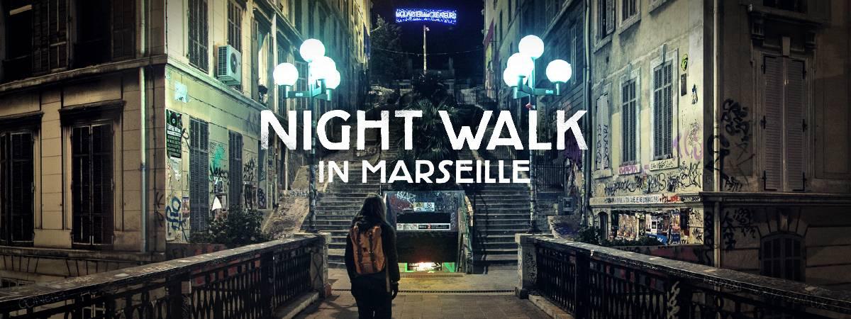Visite virtuelle de Marseille avec Google Night Walk