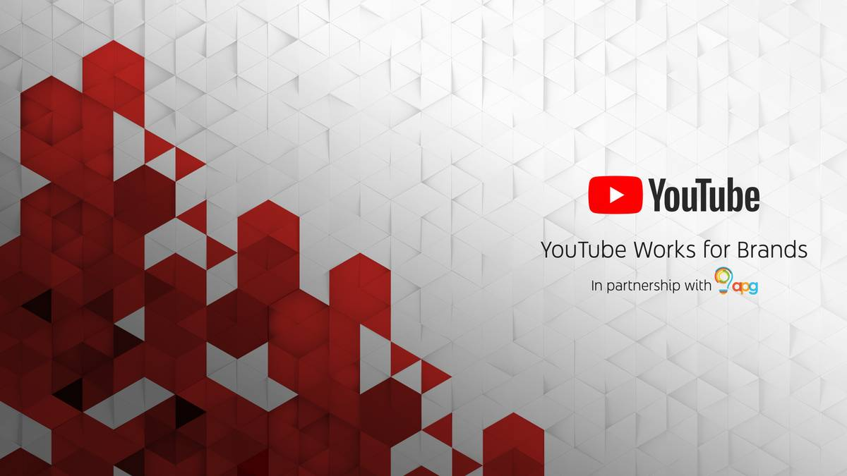 youtube works for brands in partnership with apg