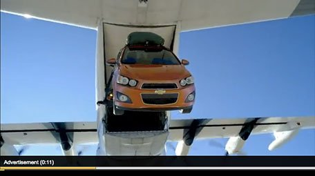 Chevy Sonic Bungee - Case Study - YouTube