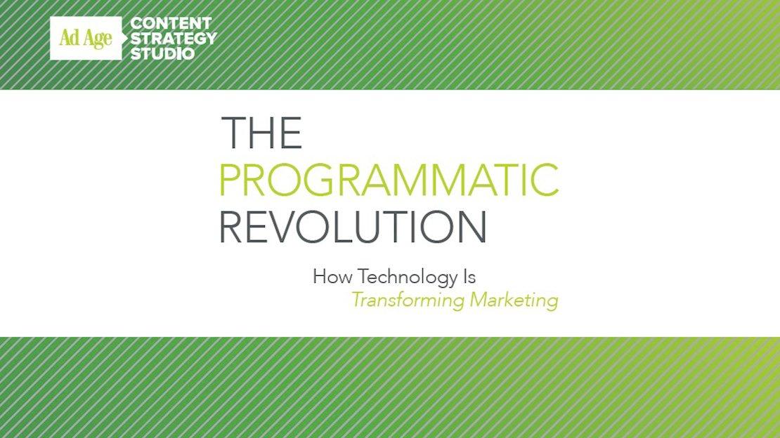 programmatic revolution