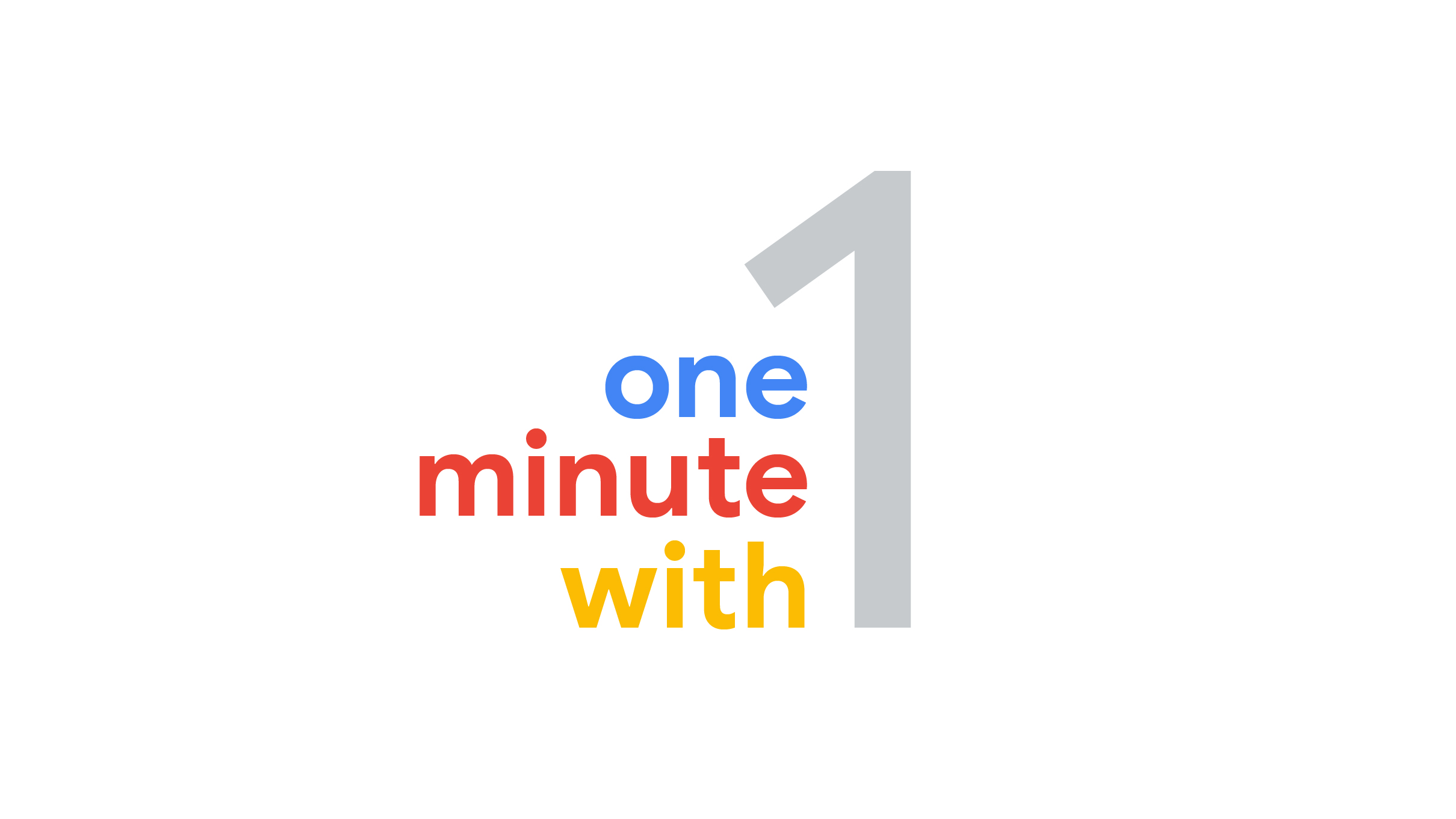 1 minute with - we spend a minute with marketing leaders from across the industry.