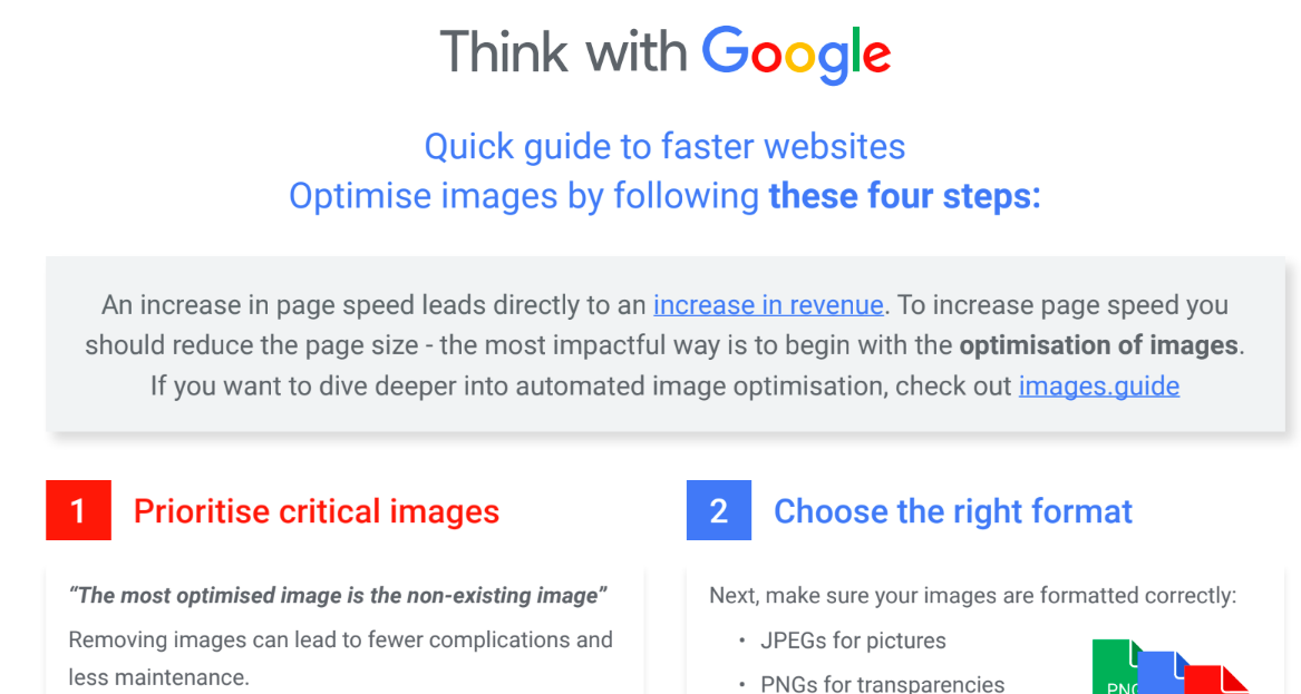 4 quick mobile speed wins: Start with images