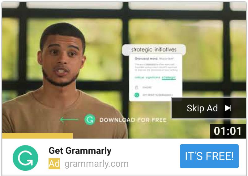 Grammarly TRV Still