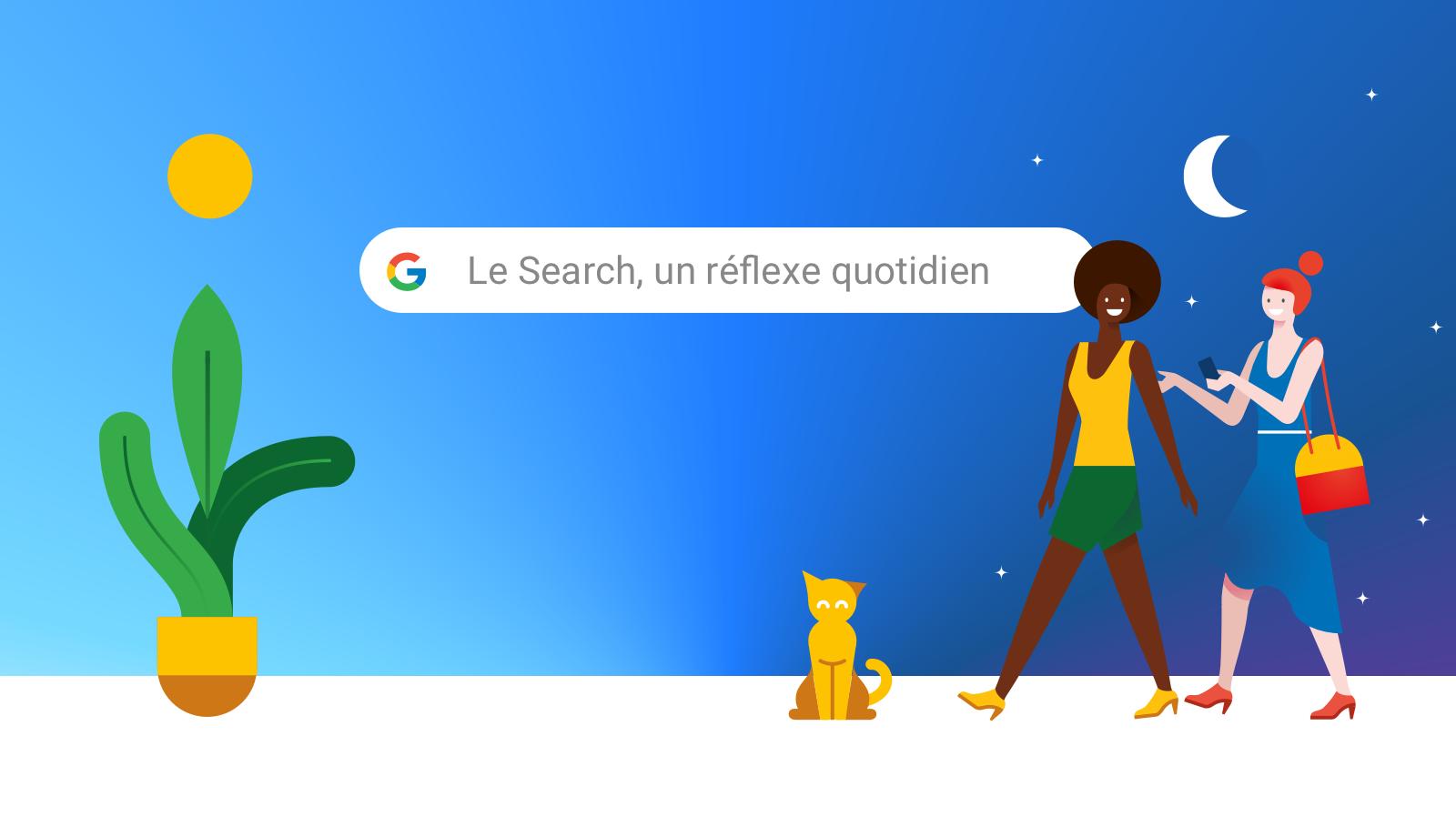 Le Search, un réflexe quotidien