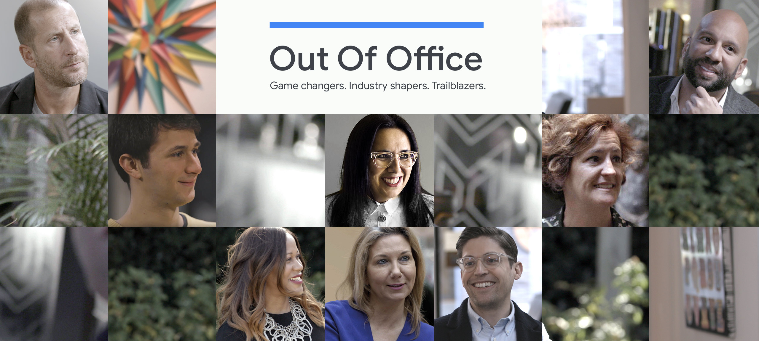 """Various people for the """"Out of Office"""" section"""