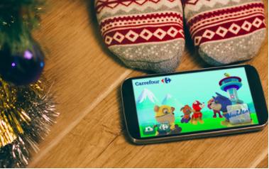 Carrefour, un catálogo de realidad aumentada y YouTube Kids logran el éxito