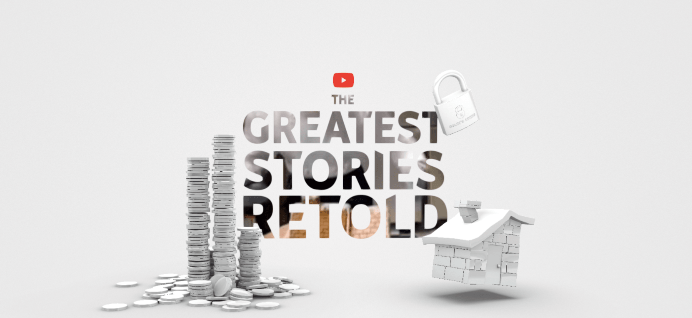 The Greatest Stories Retold on YouTube - Banner