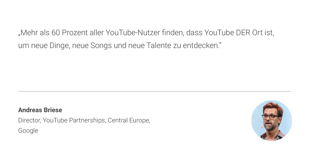 Youtube Music Andreas Briese Zitat 1