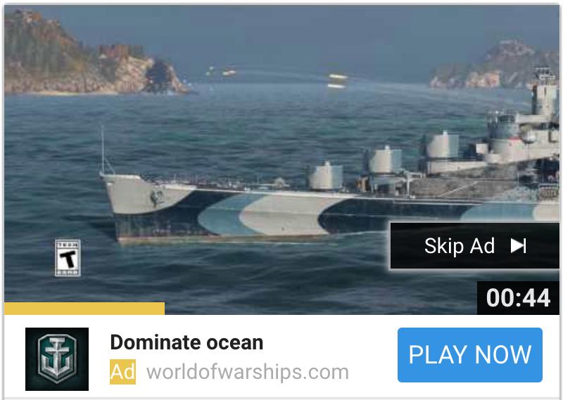 World of Warship TRV Still
