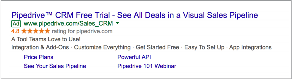 Pipedrive grows international sales volume by 283% with Google AdWords img1