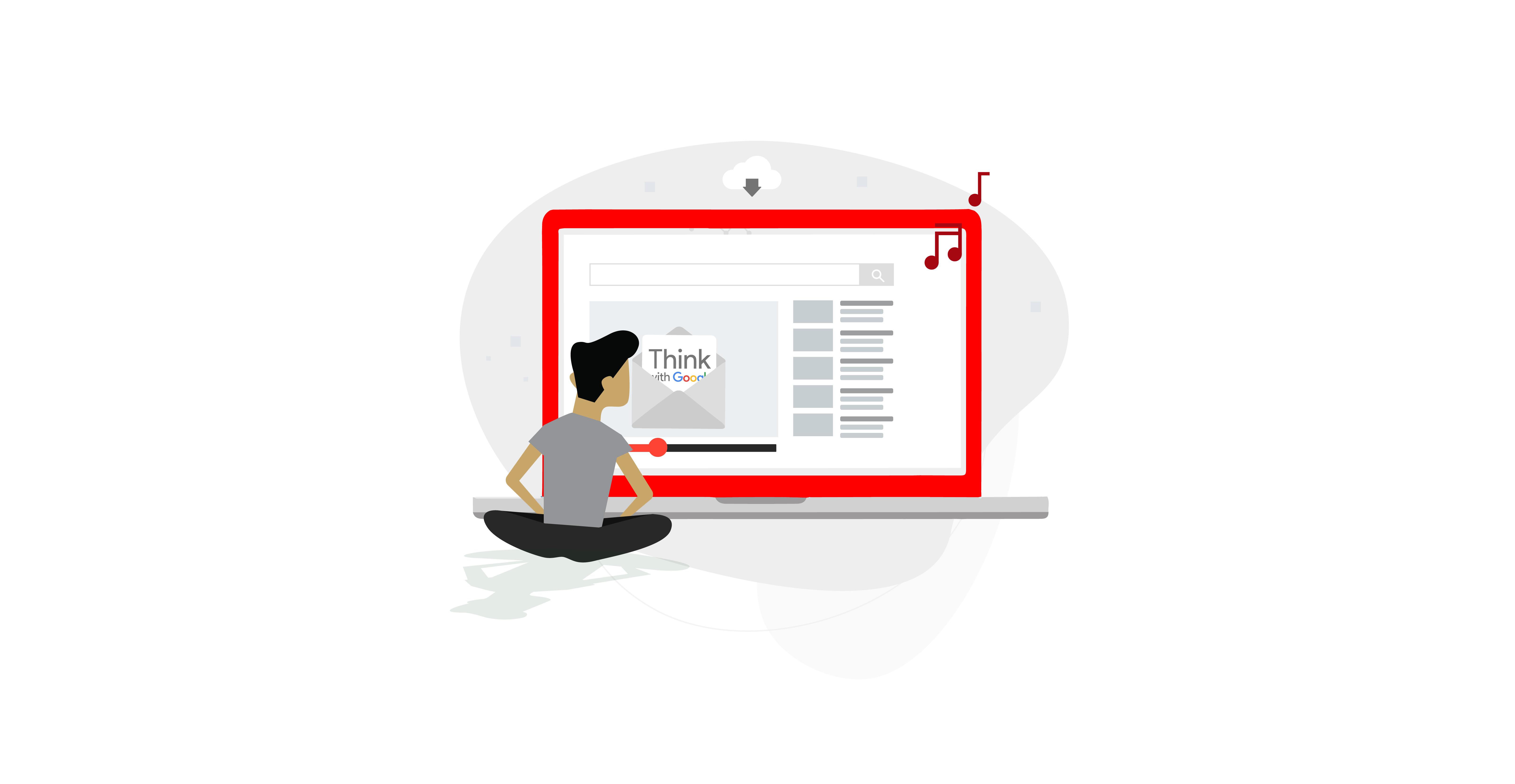 hombre sentado frente a un ordenador