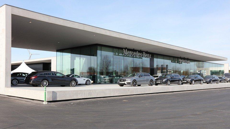 Mercedes Benz Groep Vereenooghe opent nieuwe showroom & atelier