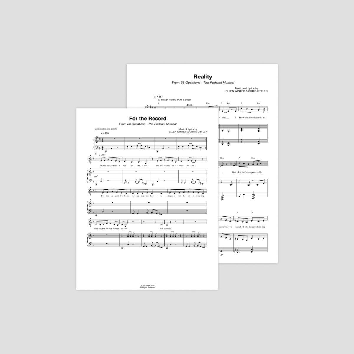 Sheet Music Placeholder Thumbnail