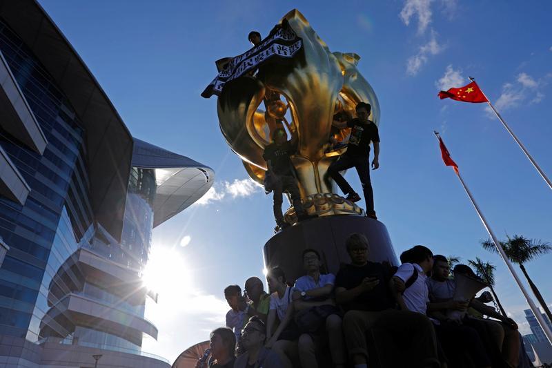 中國人大將直接立香港《國安法》,一國兩制形同告終_(攝影/REUTERS/Tyrone Siu/達志影像)