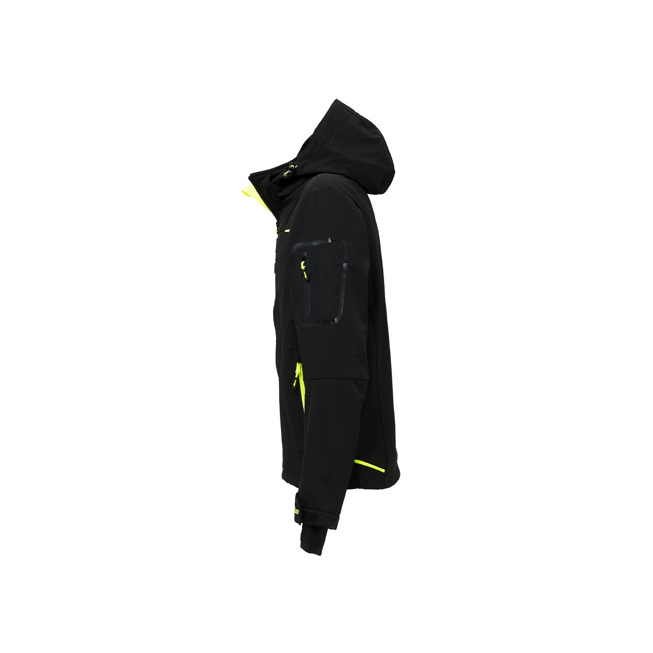 giacca da lavoro upower modello space colore black carbon