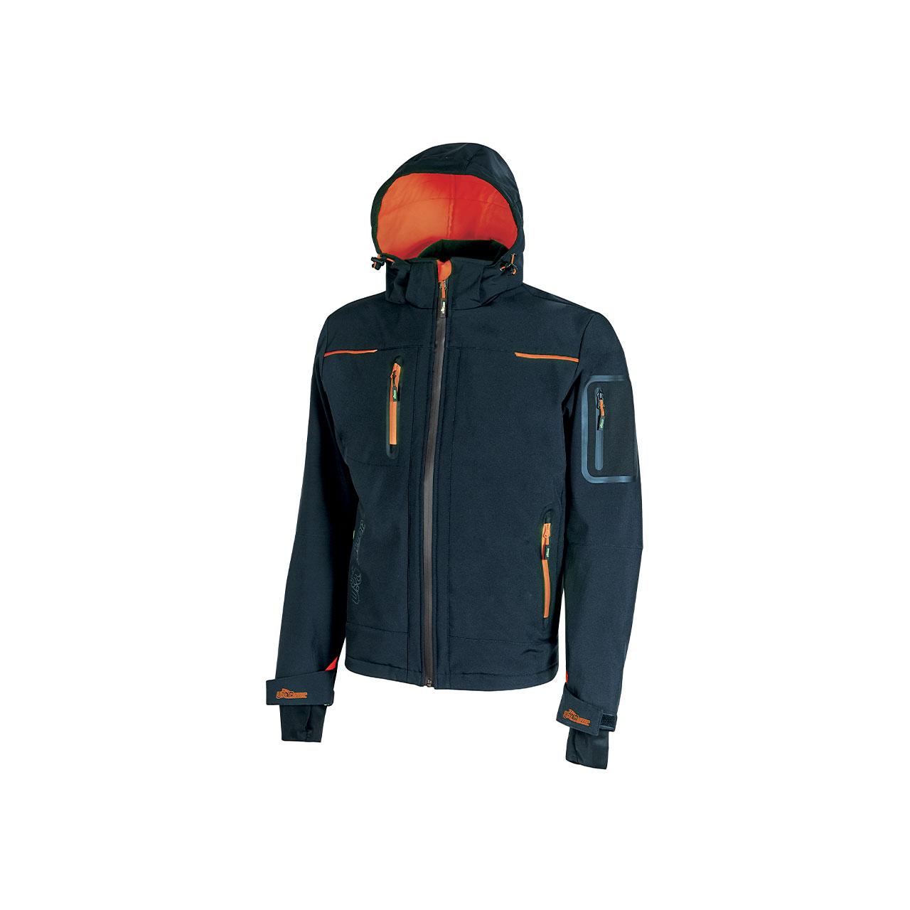 giacca da lavoro upower modello space colore deep blue