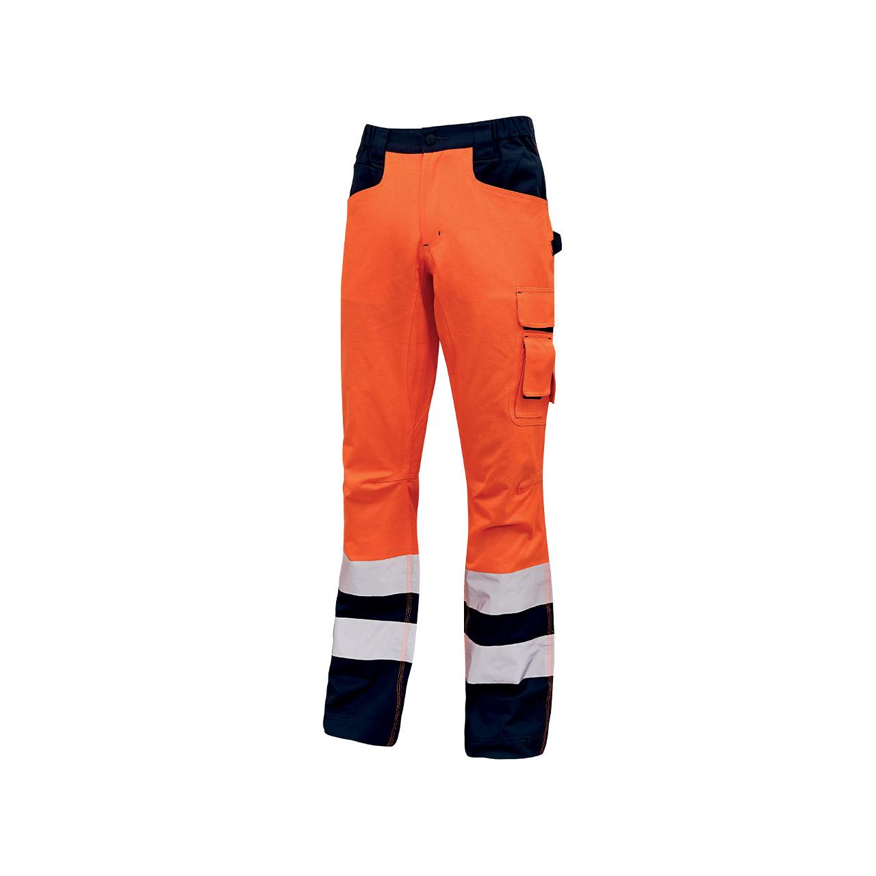 pantalone da lavoro upower modello light colore orange