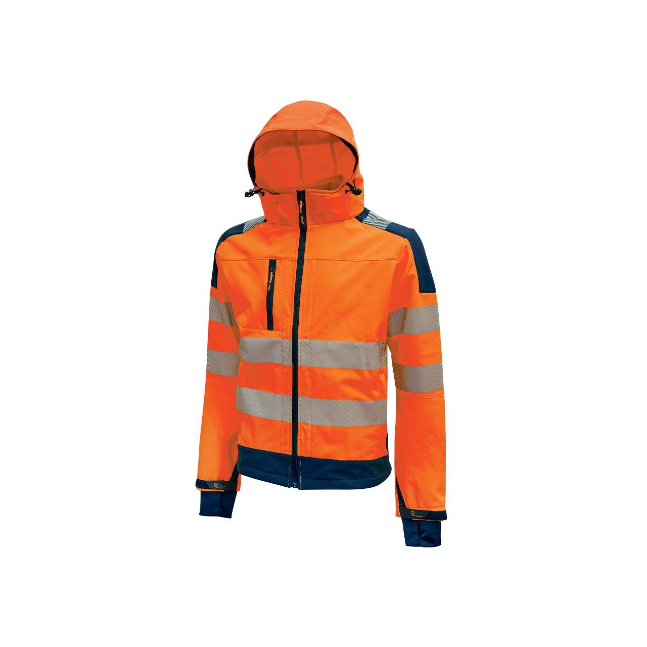 giacca da lavoro upower modello miky colore orange fluo