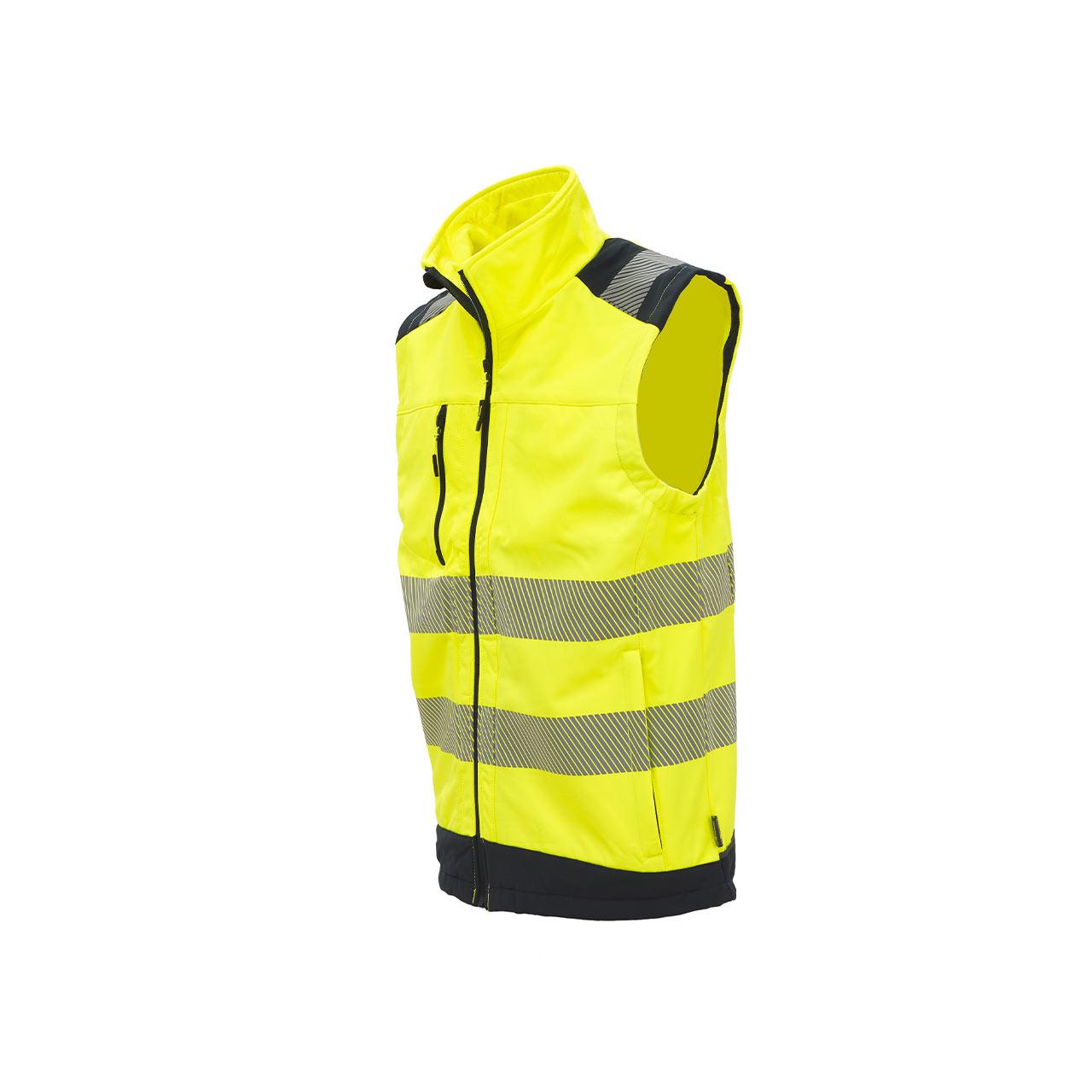 gilet da lavoro upower modello dany colore yellow fluo