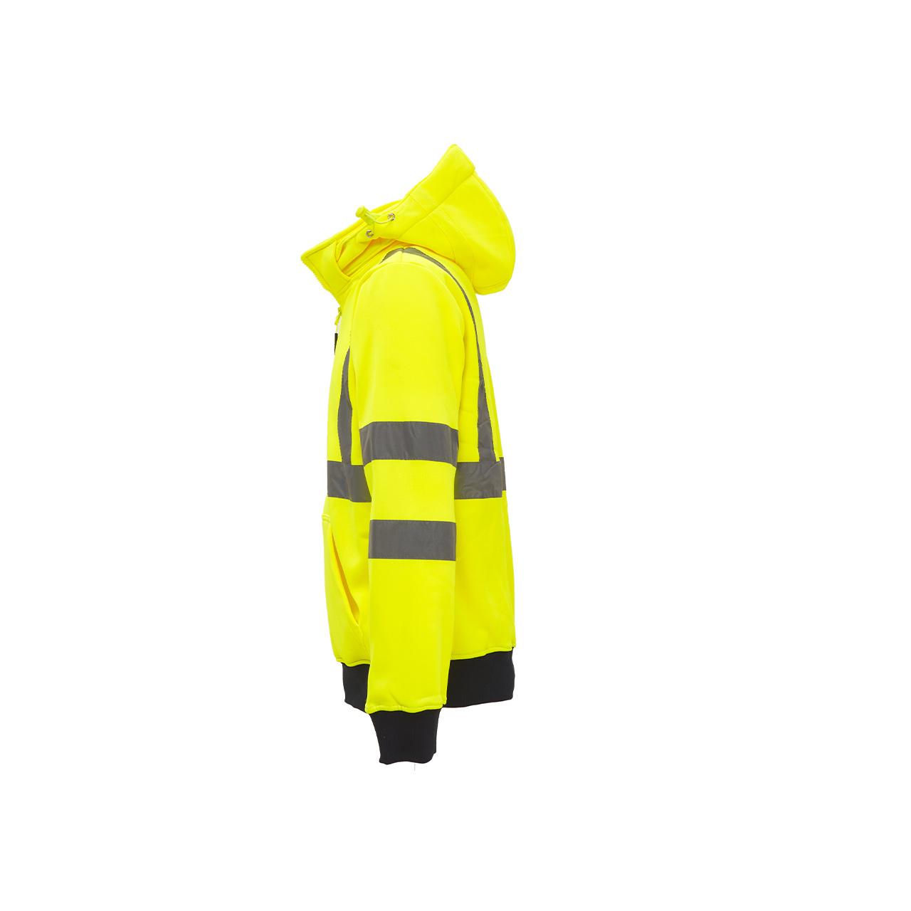 felpa da lavoro upower modello melody colore yellow flu