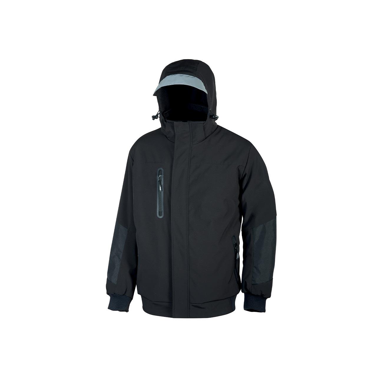 giacca da lavoro upower modello blaze colore black carbon