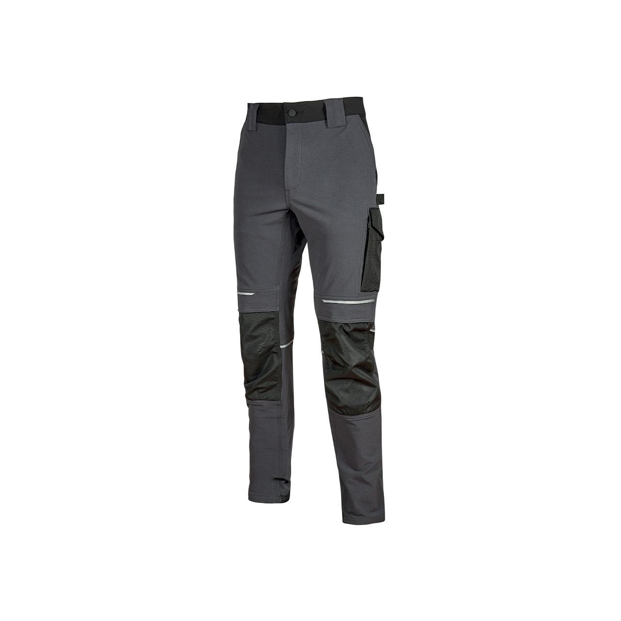 pantalone da lavoro upower modello atom colore asphalt grey