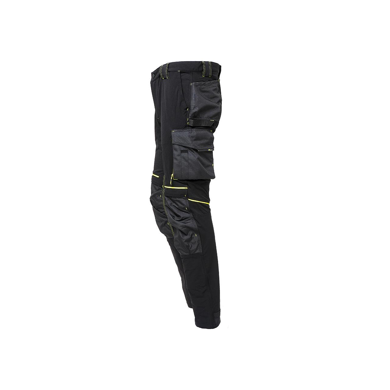 pantalone da lavoro upower modello atom colore black carbon