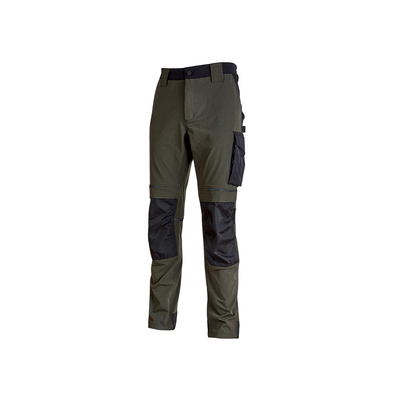 pantalone da lavoro upower modello atom colore dark green