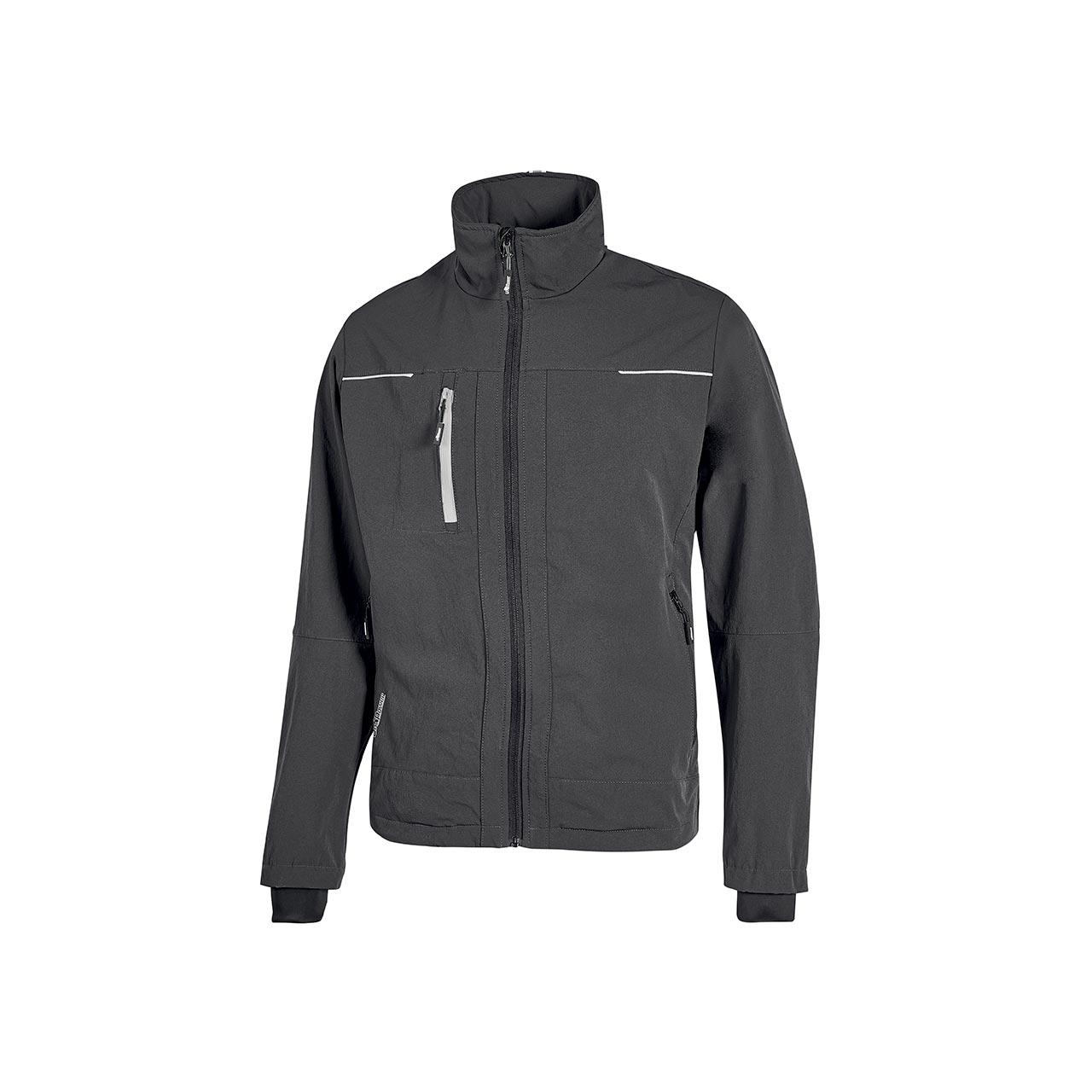 giacca da lavoro upower modello pluton colore asphalt grey
