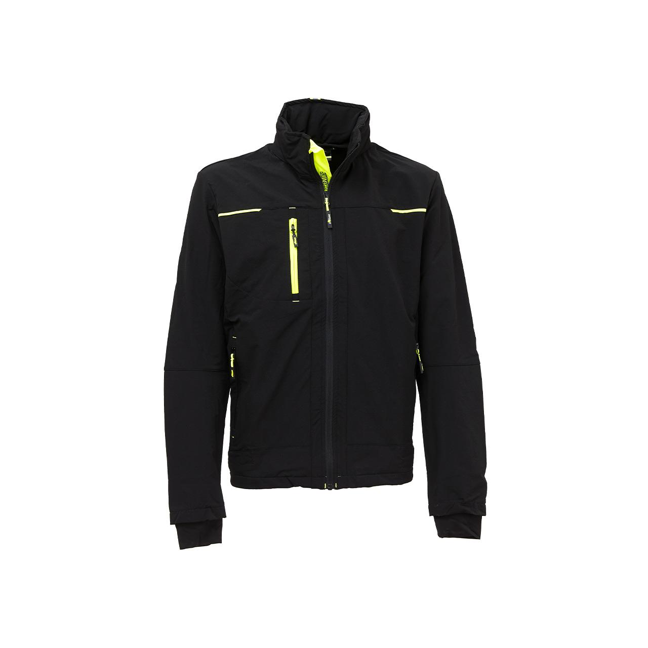 giacca da lavoro upower modello pluton colore black carbon