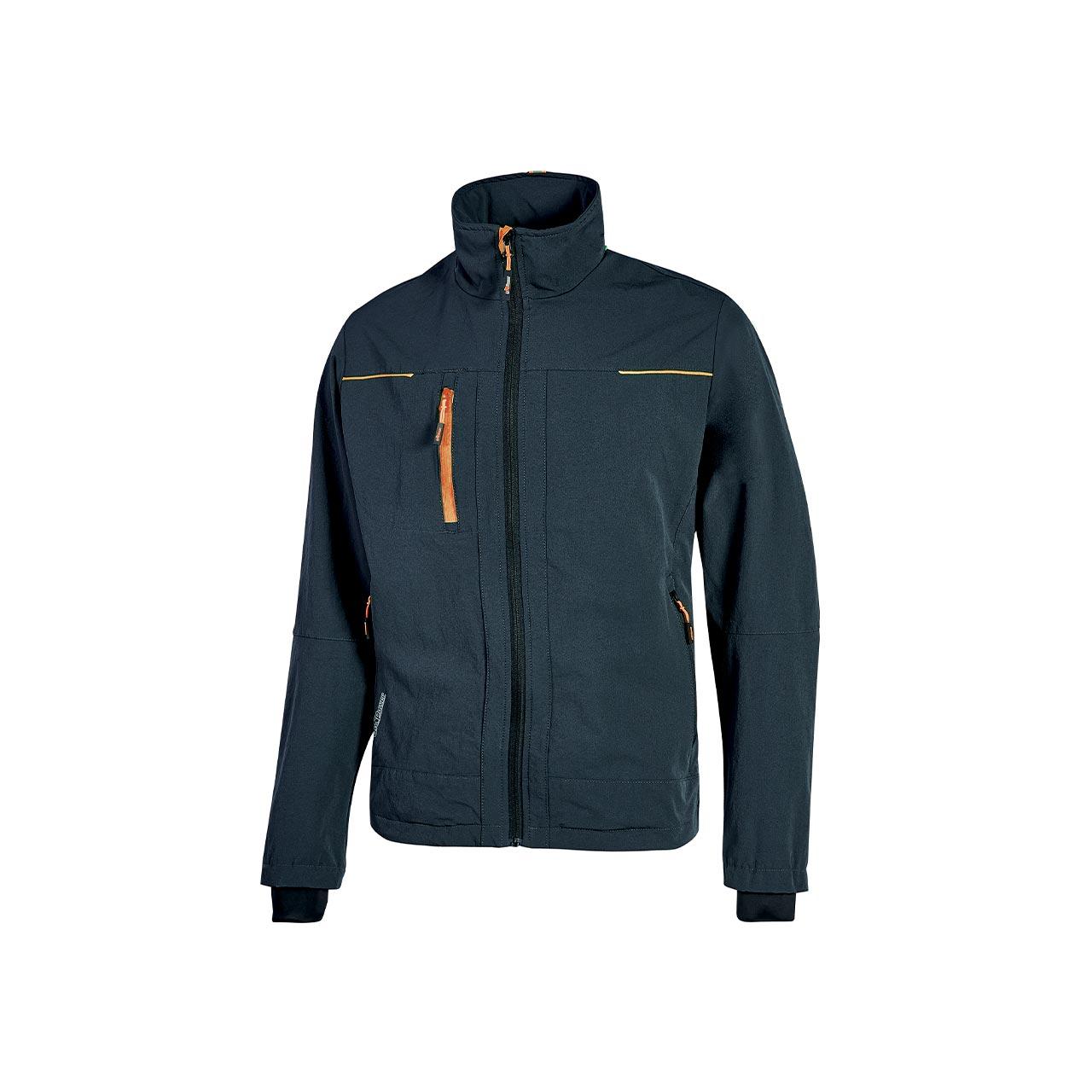 giacca da lavoro upower modello pluton colore deep blue