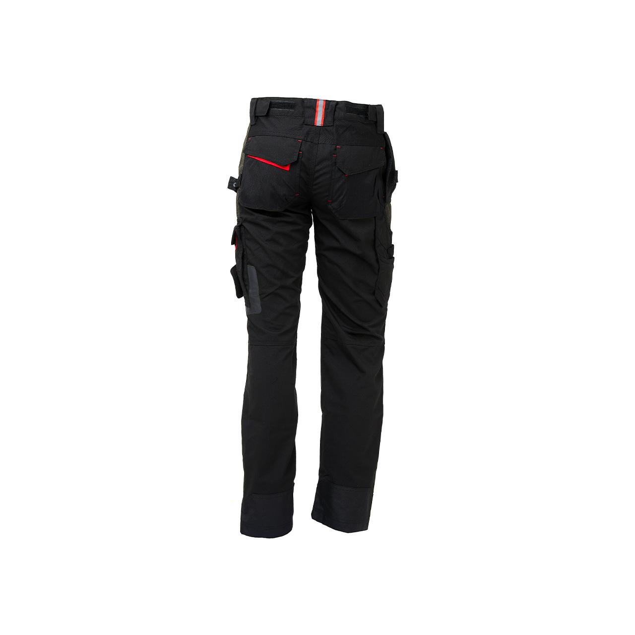 pantalone da lavoro upower modello race colore black carbon