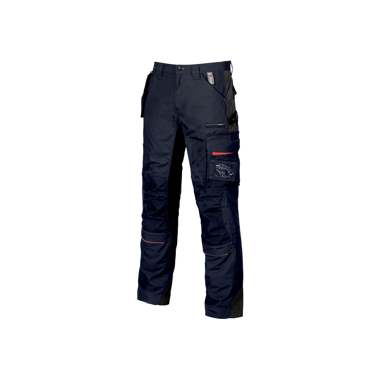 pantalone da lavoro upower modello race colore deep blu