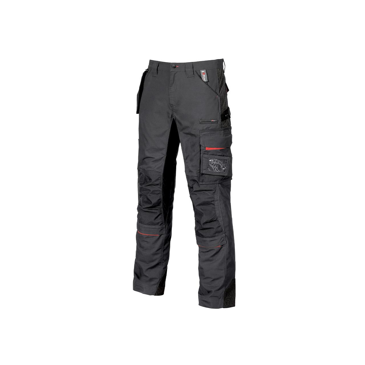 pantalone da lavoro upower modello race colore grey meteorite