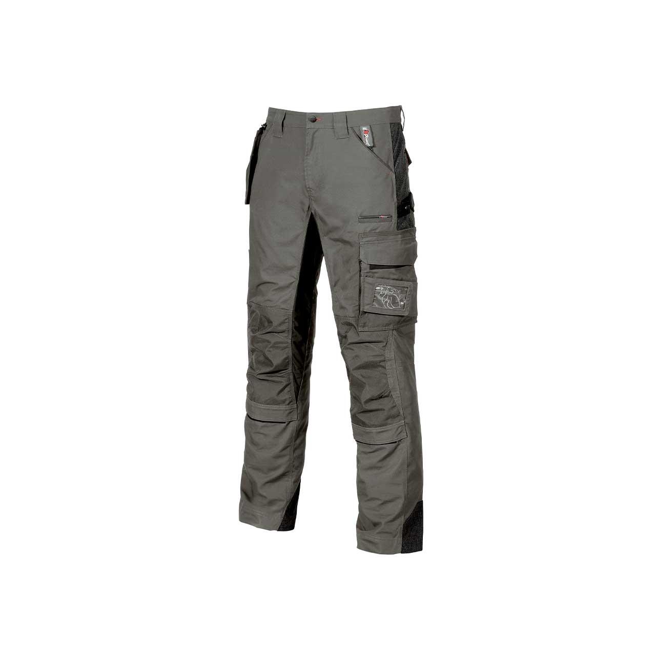 pantalone da lavoro upower modello race colore stone grey