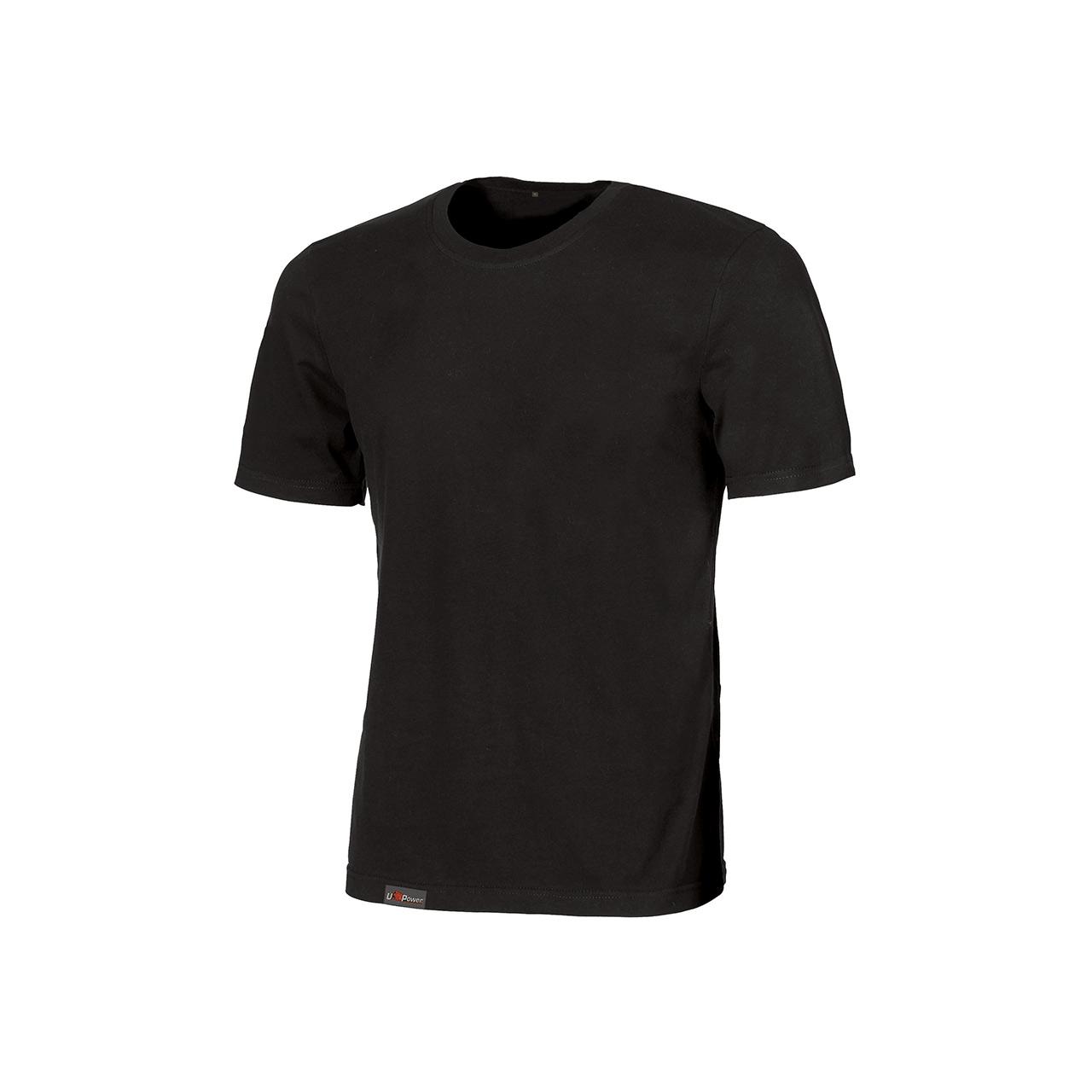 Tshirt da lavoro upower modello linear colore black car