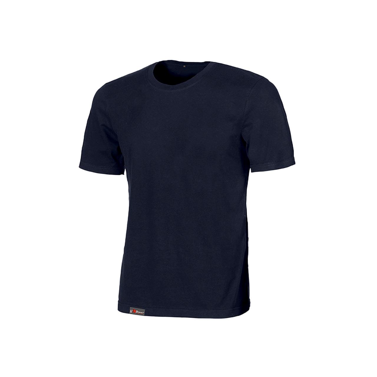 Tshirt da lavoro upower modello linear colore deep blue