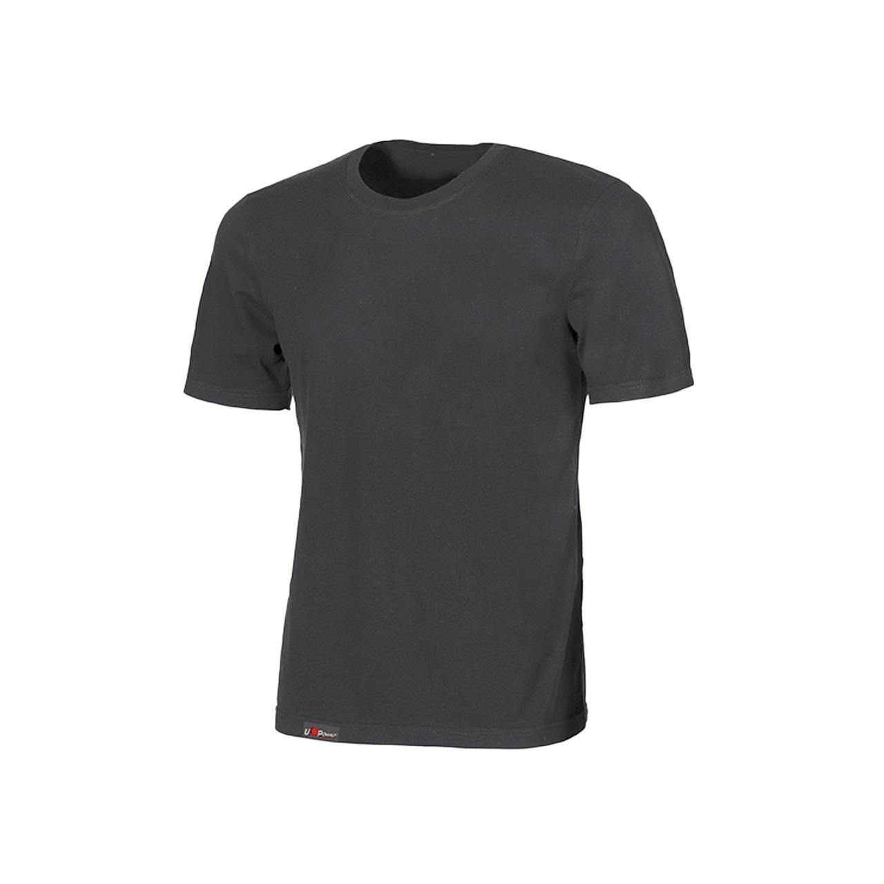 Tshirt da lavoro upower modello linear colore grey mete
