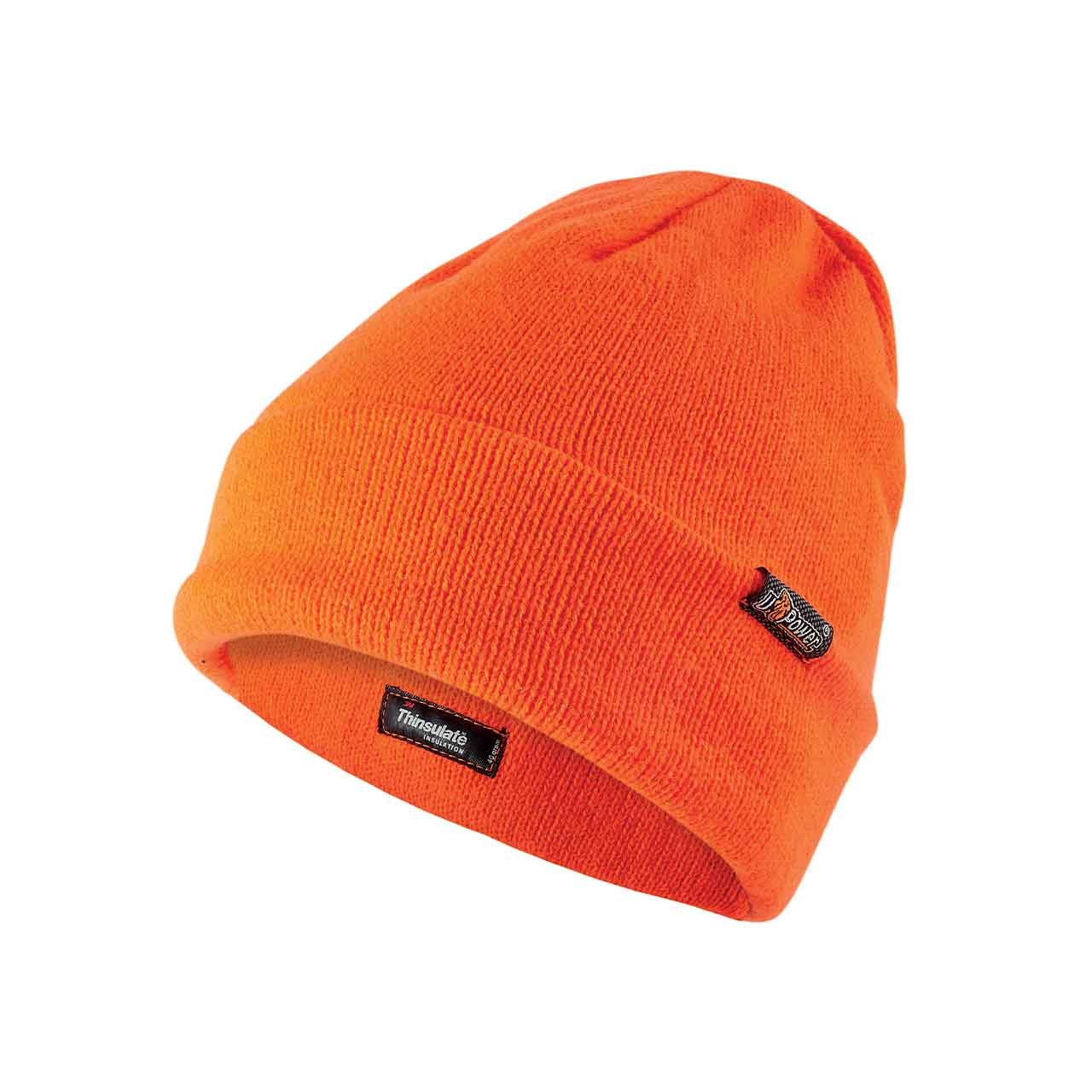 berretto invernale da lavoro upower colore orange fluo