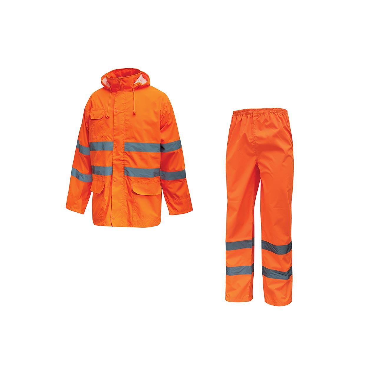 completo da lavoro upower modello cover colore orange f