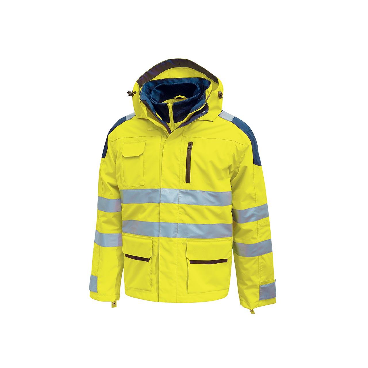 giacca da lavoro upower modello backer colore yellow fl