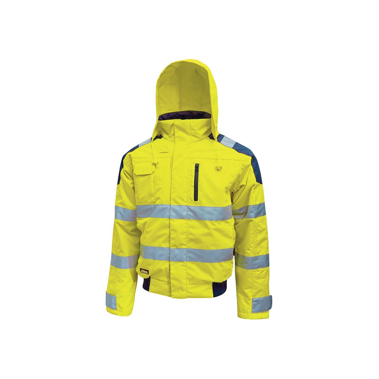 giacca da lavoro upower modello best colore yellow fluo