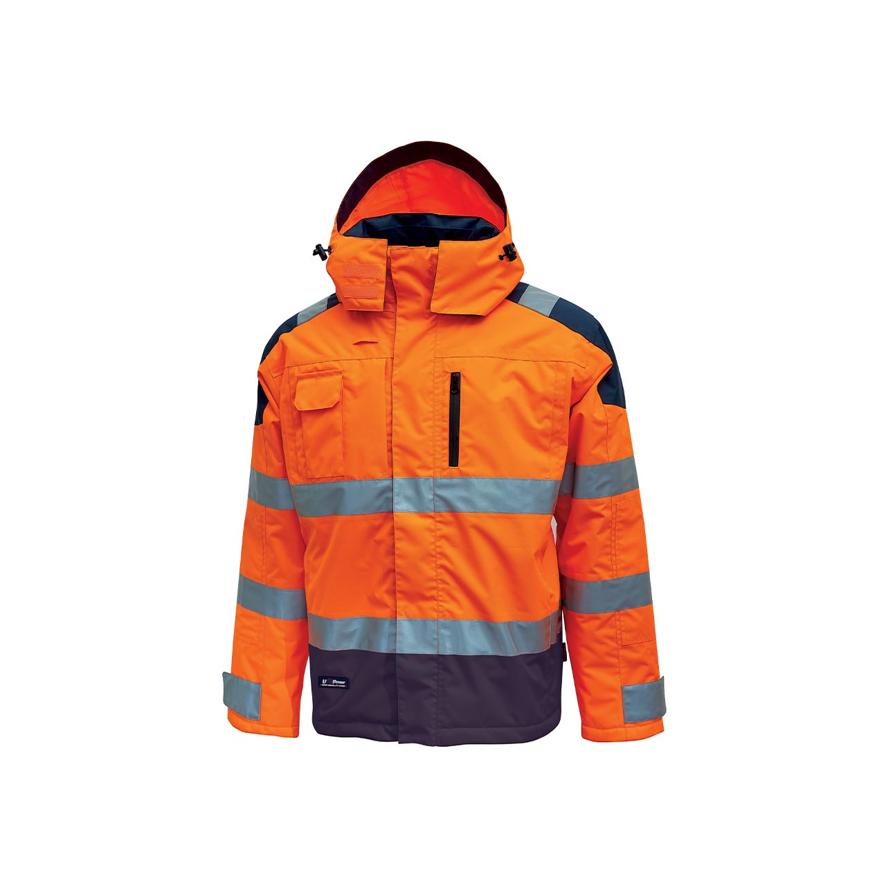 giacca da lavoro upower modello defender colore orange